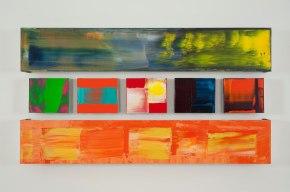 "Pedro Calapez, ""Friso #03"", 2013, 97 x 176,5 x 20,5 cm. © Pedro Calapez"