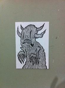 Rudolfo, Raivoso, canetas de tinta indiana s/ papel cavalinho 200g.