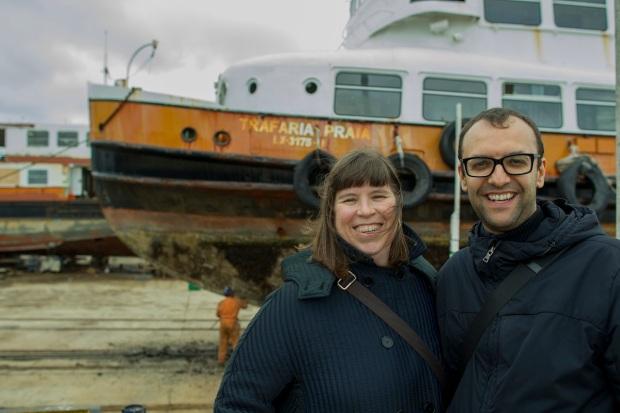 Joana Vasconcelos e Miguel Amado. Cortesia de Joana Vasconcelos.
