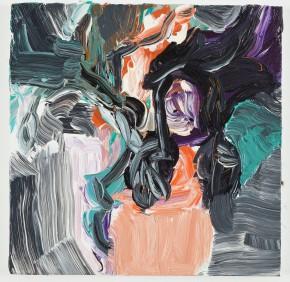 Gabriela Machado, Série Pequenas Pinturas, 2013, Óleo sobre linho, 39 x 39 cm, Fotografia: Pat Kilgore. Cortesia de 3+1 arte contemporânea, Lisboa, 2013.