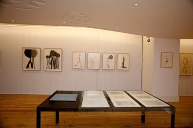 Teresa Gonçalves Lobo, vista geral da exposição 'i em Pessoa', no FRESS, Lisboa. Cortesia da artista.