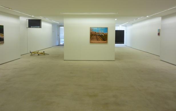 João Louro, exposição 'L' Écriture du Désastre' na Galeria Fernando Santos, Porto, 2013.