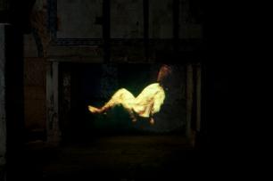 Ana Léon, exposição 'Sem título (uma dupla de artistas)' no Carpe Diem Arte e Pesquisa, Lisboa, 2013. Cortesia de Carpe Diem Arte e Pesquisa.
