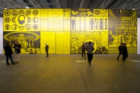 Art Basel 2013 | Unlimited | Matt Mullican | Klosterfelde, Mai 36. MCH Messe Schweiz (Basel) AG. Courtesy of Art Basel.