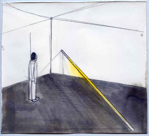 André Sousa, Raio de Sol, 2007. Cortesia de Galeria Quadrado Azul.