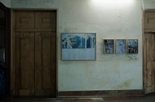 José Pedro Cortes, exposição da série Costa, do EPEA no Carpe Diem Arte e Pesquisa, Lisboa, 2013. Cortesia Carpe Diem Arte e Pesquisa.
