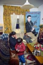 Ahlam Shibli, Sans titre (Death n° 37). Palestine, 2011-2012. Tirage chromogène, 100 x 66,7 cm. Camp de réfugiés de Balata, 12 février 2012. Courtesy de l'artiste, © Ahlam Shibli