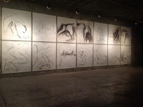 Mário Rita, da exposição 'Do mito da criação', Sala do Veado, 2013, Lisboa.