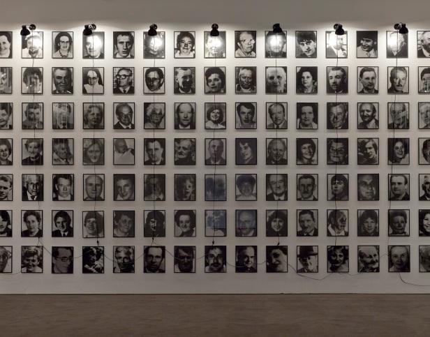 Christian Boltanski, '364 Suisses morts', 1990 (Detalhe / Detail), Museu Coleção Berardo © SPA, Lisboa. Fotografia / Photography: David Rato. Cortesia Museu Coleção Berardo.