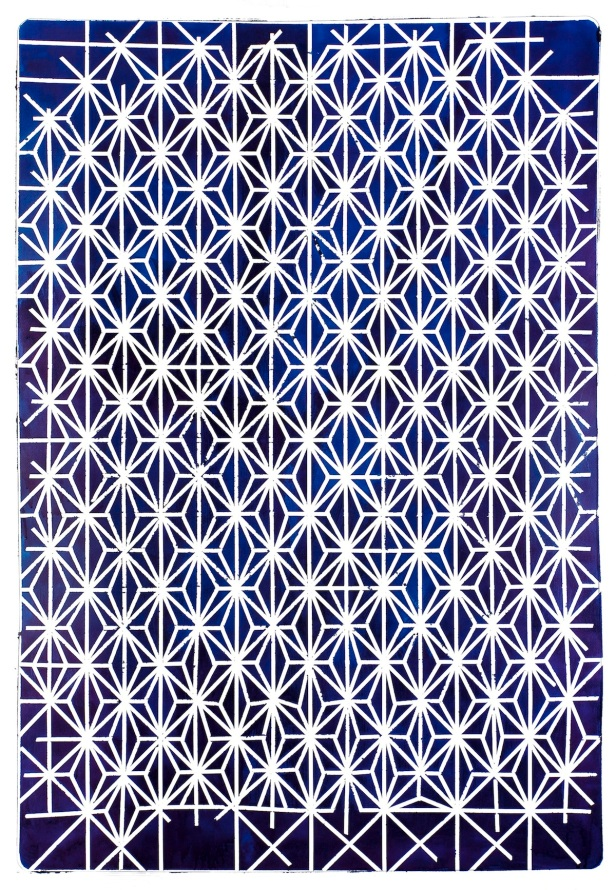 Cristina Lamas, Sem Título, 2013, tinta da china sobre papel, 141 x 98 cm. Cortesia Galeria 111, Lisboa.