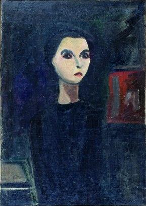 Vieira da Silva, Autoportrait, 1930 óleo sobre tela 65 x 46 cm Col. Fundação Arpad Szenes – Vieira da Silva.