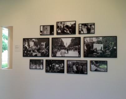 Lofti Ghariani (Tunísia), 'Fragments d'un vécu en Tunisie', 2011. Fragmentos da vida na Tunísia.