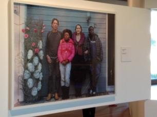 Calvin Dondo (África do Sul), 'New German Family', 2007. Nova família alemã.