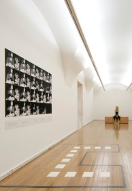 vista da exposição 'Index' de Julião Sarmento no MACE. Imagem cortesia : Museu de Arte Contemporânea de Elvas, MACE, 2013