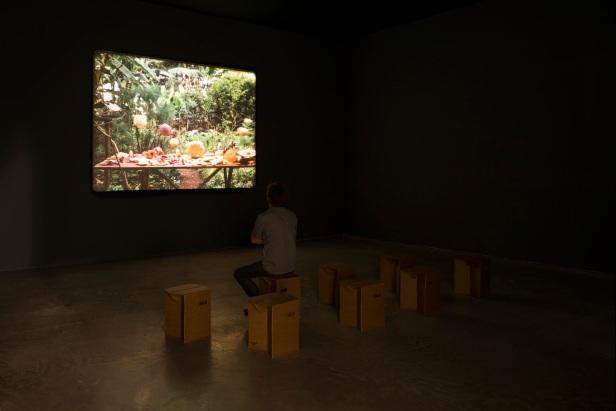 João Maria Gusmão + Pedro Paiva, 'O problema de Molyneux', vista da exposição (exhibition view at) Galpão Fortes Vilaça, 2013 . Fotografia (Photo): Eduardo Ortega. Cortesia (Courtesy), Galeria Fortes Vilaça.