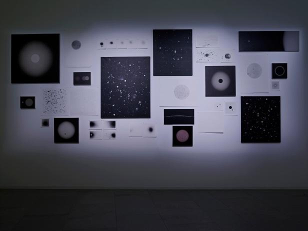 'Lições da Escuridão, Sala 12. Rui Toscano, Sem título. Cortesia Centro Internacional das Artes José de Guimarães, 2013