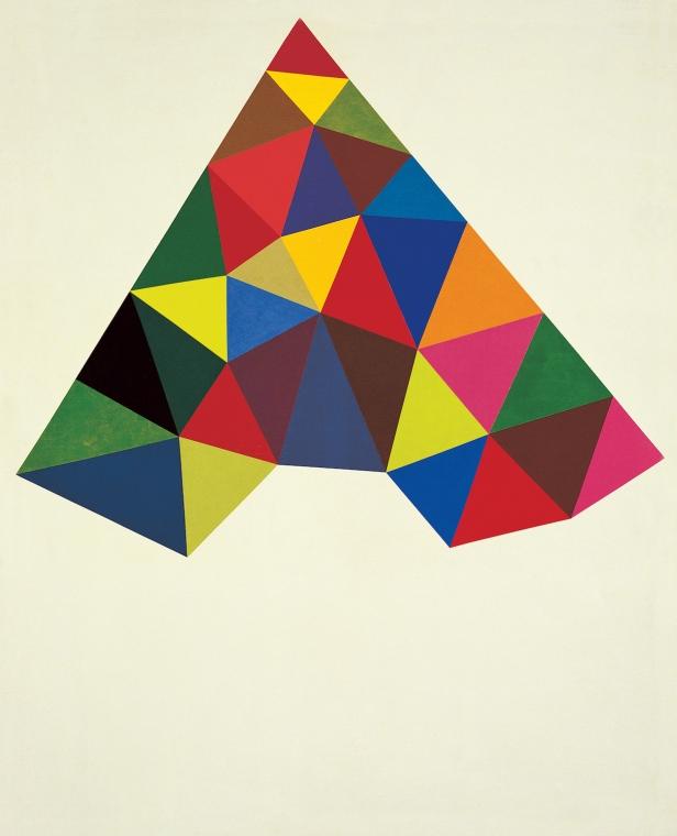 Ângelo de Sousa, Sem título (geométrico grande), 1967. Fotografia: Laura Castro Caldas/ Paulo Cintra. Cortesia de Culturgest.