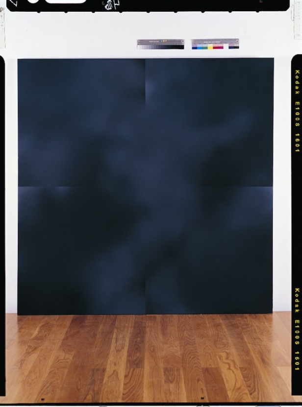Fernando Calhau (1948-2002), Sem título #241, 2001. Acrílico sobre tela 190 x 190 cm © Laura Castro Caldas / Paulo Cintra. Cortesia de Culturgest.