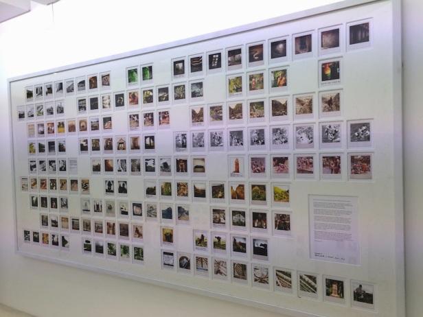 (vista geral) exposição 'Rumor' de João Pedro Vale e Nuno Alexandre Ferreira, A Pequena Galeria, Lisboa.