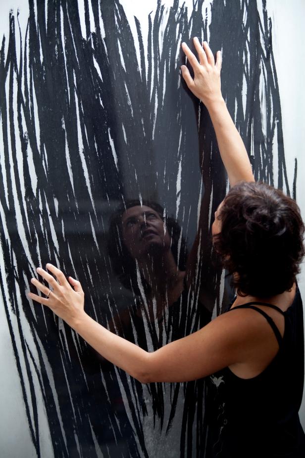 """Exposição 'Para além de ... """" Teresa Gonçalves Lobo na Travessa da Ermida. Cortesia da artista."""