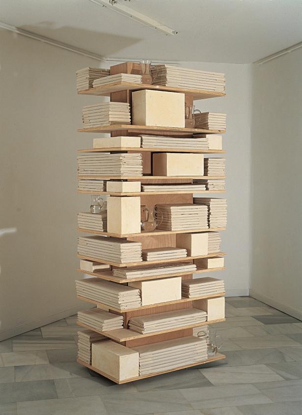 Pedro Cabrita Reis, H. Suite VII, 1993. Fundación ARCO.
