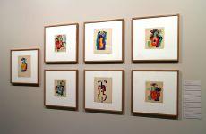 Amadeo de Souza-Cardoso, 6 obras, Sem Título, 1916. Grafite, e/ou gouache e/ou aguarela sobre papel. (Piso -1) Exposição 'Sob o Signo de Amadeo - Um Século de Arte'. CAM-Fundação Calouste Gulbenkian, 2013-2014.
