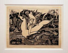 Amadeo de Souza-Cardoso, Le Tigre, 1912. (Piso -1) Exposição 'Sob o Signo de Amadeo - Um Século de Arte'. CAM-Fundação Calouste Gulbenkian, 2013-2014.