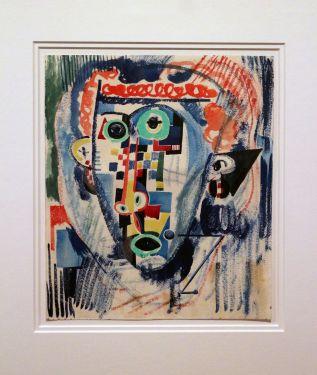 Amadeo de Souza-Cardoso, Sem Título, 1915. Aguarela sobre papel. (Piso -1) Exposição 'Sob o Signo de Amadeo - Um Século de Arte'. CAM-Fundação Calouste Gulbenkian, 2013-2014.