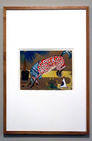 Amadeo de Souza-Cardoso, Título desconhecido (Clown, Cavalo, Salamandra), 1911-1912. Gouache sobre papel. (Piso -1) Exposição 'Sob o Signo de Amadeo - Um Século de Arte'. CAM-Fundação Calouste Gulbenkian, 2013-2014.
