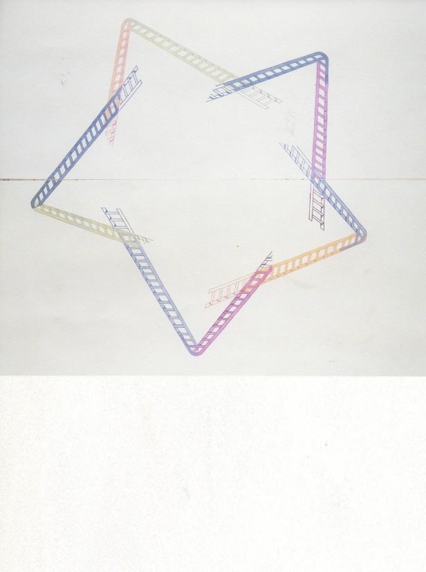 Ana Jotta, Sem Título, 2013, Cartaz em ed. única, 90 x 120 cm. © a artista Ana Jotta e a Galeria Belo-Galsterer.