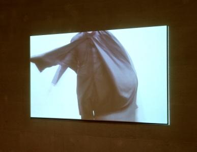António Olaio, Kuenstlerleben, 2010, Video Video, cor, loop, som, 8'38''. (nave) Exposição 'Sob o Signo de Amadeo - Um Século de Arte'. CAM-Fundação Calouste Gulbenkian, 2013-2014.