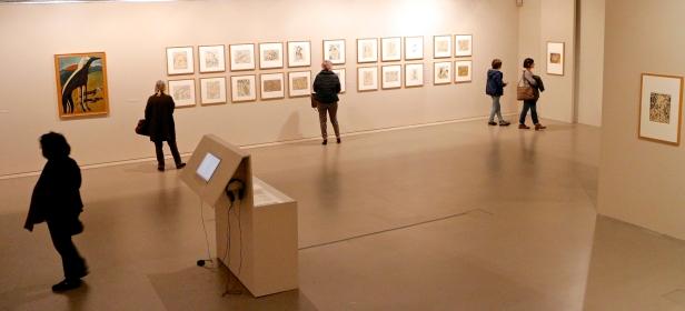 (Piso -1) Exposição 'Sob o Signo de Amadeo - Um Século de Arte'. CAM-Fundação Calouste Gulbenkian, 2013-2014.