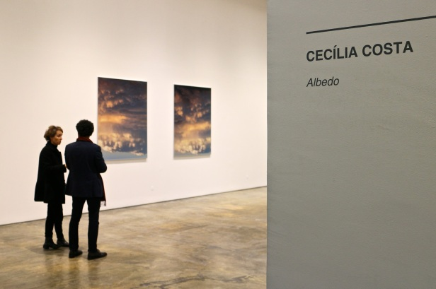 vista da exposição Albedo de Cecília Costa na Baginski, Galeria   Projectos.