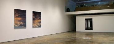 vista da exposição 'Albedo' de Cecília Costa na Baginski, Galeria   Projectos.