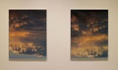 vista da exposição 'Albedo' de Cecília Costa na Baginski, Galeria | Projectos.