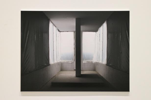 (pormenor) vista da exposição 'Albedo' de Cecília Costa na Baginski, Galeria   Projectos.