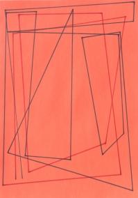 Jaroslaw Flicinski The White Star, 2002 pintura de parede em acrÌlico | acrylic wall painting 350x350cm Projeto | project: Place Your Bets Locker Plant, Chinati Foundation, Marfa, TX Jaroslaw Flicinski Vase, 2013 Fotografia | photo