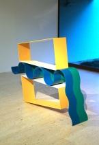 David Annesley, Swing Low. (nave) Exposição 'Sob o Signo de Amadeo - Um Século de Arte'. CAM-Fundação Calouste Gulbenkian, 2013-2014.