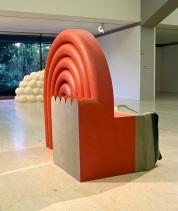 Derrick Woodham, The Stage. (nave) Exposição 'Sob o Signo de Amadeo - Um Século de Arte'. CAM-Fundação Calouste Gulbenkian, 2013-2014.