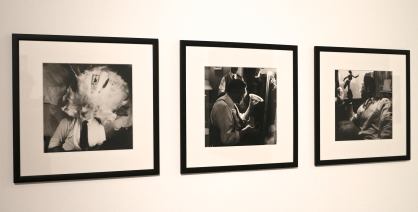 Fernando Lemos, Eu (Auto-retrato), 1949-1952. 3 Obras. Fotografia a preto e branco sobre papel e gelatina de sais de prata. (Piso 1). Exposição 'Sob o Signo de Amadeo - Um Século de Arte'. CAM-Fundação Calouste Gulbenkian, 2013-2014.