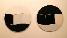 Irene Buarque, Muralha, 1974. Tinta acrílica sobre platex. (Piso 1) Exposição 'Sob o Signo de Amadeo - Um Século de Arte'. CAM-Fundação Calouste Gulbenkian, 2013-2014.