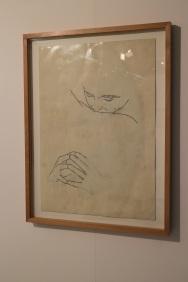Julião Sarmento, Febre (16). (nave) Exposição 'Sob o Signo de Amadeo - Um Século de Arte'. CAM-Fundação Calouste Gulbenkian, 2013-2014.