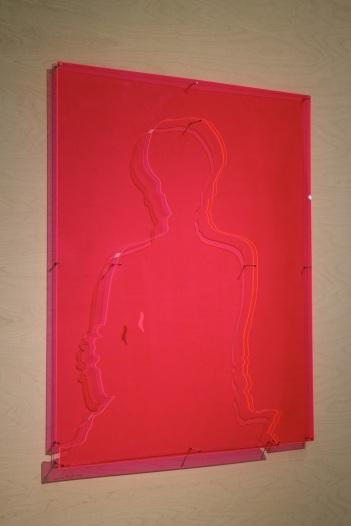 Lourdes Castro, Sombra Projetada de Christa Maar, 1968. (nave) Exposição 'Sob o Signo de Amadeo - Um Século de Arte'. CAM-Fundação Calouste Gulbenkian, 2013-2014.