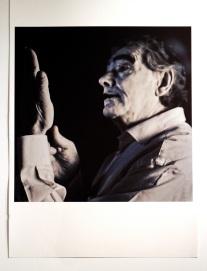 Jorge Molder, da série 'A escala de Mohs' (2012-2013). Museu da Electricidade, Fundação EDP, Lisboa, 2013-2014.