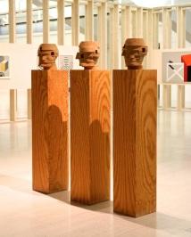 Rui Sanches, S/ Título (B.B.4), 1991. (nave) Exposição 'Sob o Signo de Amadeo - Um Século de Arte'. CAM-Fundação Calouste Gulbenkian, 2013-2014.