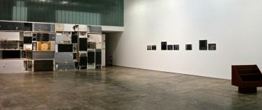 vista da exposição 'A Viagem da Sala 53' na Baginski, Galeria | Projectos (Lisboa)
