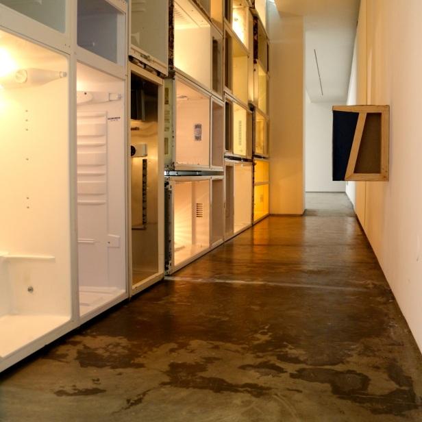 Igor Jesus, O Lado Escuro da Lua, Vista da exposição 'A Viagem da Sala 53', Baginski Galeria e Projectos, Lisboa.