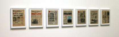 Nuno Nunes Ferreira, Primeira Semana de Liberdade, exposição 'A Viagem da Sala 53' na Baginski, Galeria | Projectos (Lisboa).