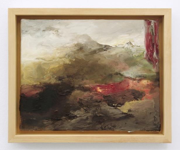 Susanne S. D. Themlitz, Da série 'Lá em baixo fica iluminada a sombra', 2013, Óleo sobre tela, Oil on canvas, 24 × 30 cm