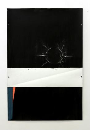 Rui Horta Pereira, REMANESCENTE (desenhos) #28, tinta da china e acrílico sobre papel, 100x70cm, 2011. Cortesia do artista.